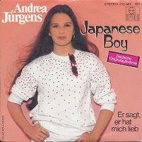 Cover Andrea Jürgens - Japanese Boy