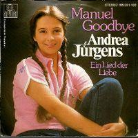 Cover Andrea Jürgens - Manuel Goodbye
