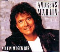 Cover Andreas Martin - Allein wegen Dir