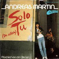 Cover Andreas Martin - Solo tu