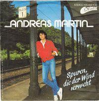 Cover Andreas Martin - Spuren, die der Wind verweht