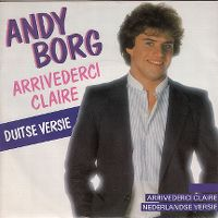 Cover Andy Borg - Arrivederci Claire