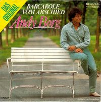Cover Andy Borg - Barcarole vom Abschied