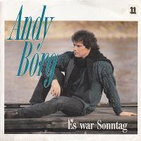 Cover Andy Borg - Es war Sonntag