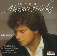 Cover Andy Borg - Meisterstücke