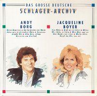 Cover Andy Borg / Jacqueline Boyer - Das große deutsche Schlager-Archiv