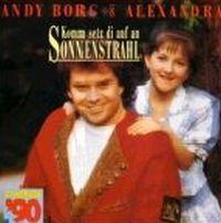 Cover Andy Borg & Alexandra - Komm setz di auf an Sonnenstrahl