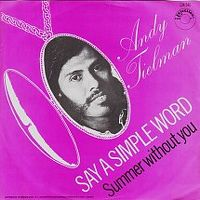 Cover Andy Tielman - Say A Simple Word