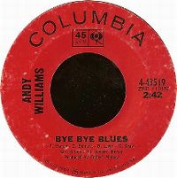 Cover Andy Williams - Bye Bye Blues