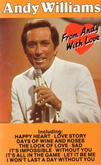Cover Andy Williams - From Andy With Love