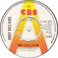 Cover Andy Williams - Make It Easy For Me