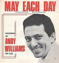 Cover Andy Williams - May Each Day