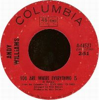 Cover Andy Williams - You Are Where Everything Is
