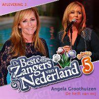Cover Angela Groothuizen - De helft van mij
