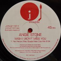 Cover Angie Stone - Wish I Didn't Miss You