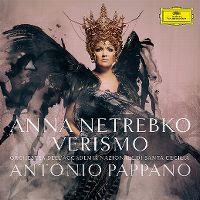 Cover Anna Netrebko / Orchestra dell'Accademia Nazionale di Santa Cecilia / Antonio Pappano - Verismo