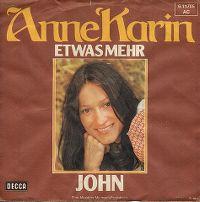 Cover Anne-Karin - Etwas mehr