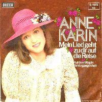 Cover Anne-Karin - Mein Lied geht zu Dir auf die Reise