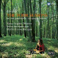Cover Anne-Sophie Mutter / Wiener Philharmoniker / Herbert von Karajan - Vivaldi: The Four Seasons