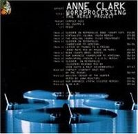 Cover Anne Clark - Wordprocessing