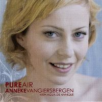 Cover Anneke van Giersbergen with Agua de Annique - Pure Air