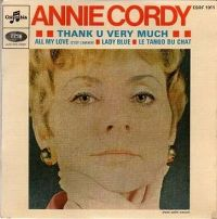 Cover Annie Cordy - Thank U Very Much