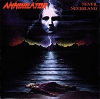 Cover Annihilator - Never, Neverland