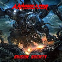 Cover Annihilator - Suicide Society