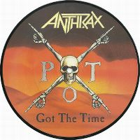 Cover Anthrax - Got The Time