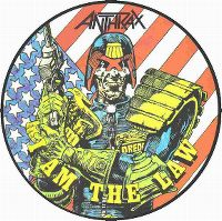 Cover Anthrax - I Am The Law