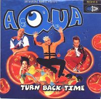 Cover Aqua - Turn Back Time