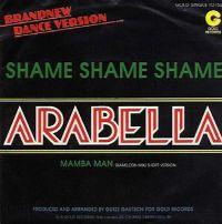 Cover Arabella - Shame Shame Shame