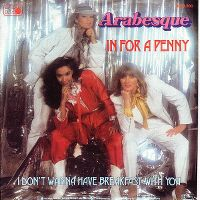 Cover Arabesque - In For A Penny