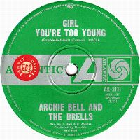 Cover Archie Bell And The Drells - Girl You're Too Young