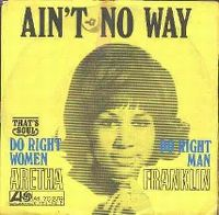 Cover Aretha Franklin - Ain't No Way