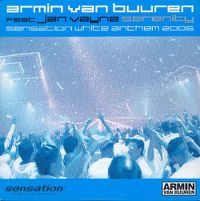 Cover Armin van Buuren feat. Jan Vayne - Serenity Sensation White Anthem 2005