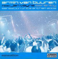 Cover Armin van Buuren feat. Jan Vayne - Serenity Sensation White Anthem 2005
