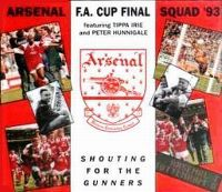 Cover Arsenal FA Cup Squad feat. Tippa Irie & Peter Hunnigale - Shouting For The Gunners