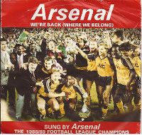 Cover Arsenal F.C. - We're Back (Where We Belong)