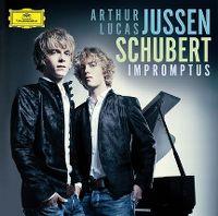 Cover Arthur Jussen & Lucas Jussen - Schubert Impromptus