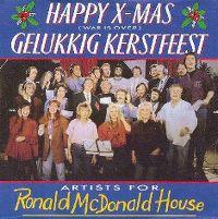 Cover Artiesten voor het Ronald McDonaldhuis - Gelukkig kerstfeest