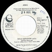Cover Asia - Sole Survivor