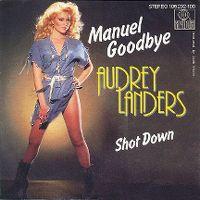 Cover Audrey Landers - Manuel Goodbye