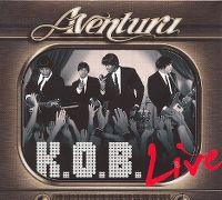 Cover Aventura - K.O.B. Live
