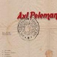 Cover Axl Peleman - Dagget wet