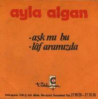 Cover Ayla Algan - Aşk mı bu