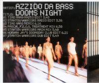 Cover Azzido Da Bass - Dooms Night