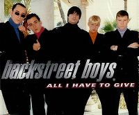 Cover Backstreet Boys - All I Have To Give