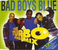 Cover Bad Boys Blue - The Turbo Megamix