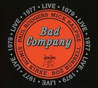 Cover Bad Company - Live 1977 - Live 1979